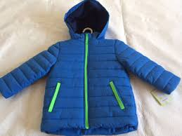 new green blue carter s boy winter coat jacket medium