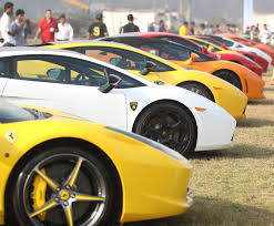 Colors Of The Parx Super Car Show Supercars All Around