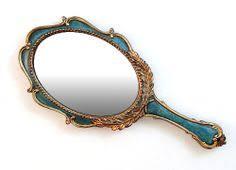 Vintage mirror drawing Hanslodge Cliparts