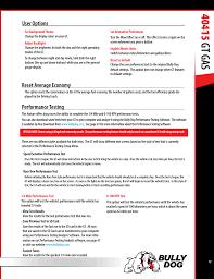 User Options Reset Average Economy Performance Testing