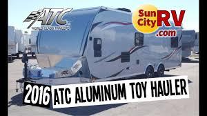 atc aluminum trailer 8524 0 2t5 2k 2016 toy hauler sun city rv phoenix