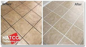 clean tiles and grout before and after cleaning ceramic tile floor cleaning shower tile grout naturally