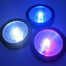 Colored Led Can Lights Amazon Com Light Up Drink Coasters Set Of 6 Multi