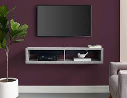 51 floating tv stands to binge your