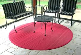 outdoor bamboo rugs for patios round rug made from rocks