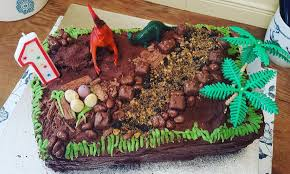 Things I Have Been Cooking Lately 177 Dinosaur Birthday Cake
