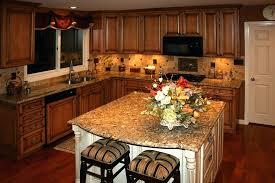 honey maple kitchen cabinets. Honey Maple Cabinets Rustic Kitchen Backsplash With .