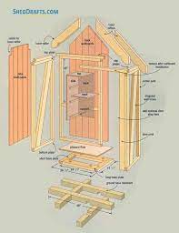 1 2 garden tool storage shed plans
