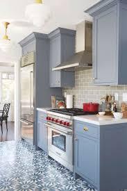 Blue Grey Kitchen Cabinets Best Mattress Kitchen Ideas