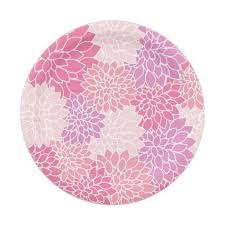 Pink Flower Paper Plates Pink Flower Paper Plates Birthday Gifts Pink Flowers Paper