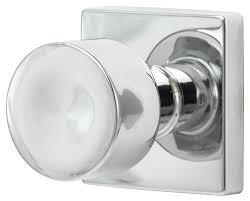 Sure Loc Door Hardware Bergen Modern Round Knob with Square Rosette