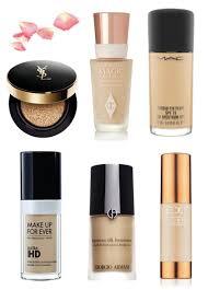 foundations l r ysl fusion ink cushion pact charlotte tilbury magic mac studio fix fluid makeup forever