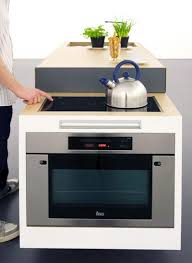 Small built in oven Electric small Type Kitchen For Compact Living By German Designers National Range Cookers Small Type Kitchen For Compact Living By German Designers