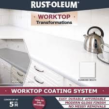 rust oleum kitchen worktop paint transformation kit rawlins paints in countertop transformations decor 34