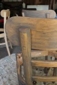 Looklacquered furniture inspriation picklee Wax Wipe The Chairs After Stain Salvaged Inspirations How To Refinish Wooden Dining Chairs Stepbystep Guide From