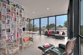 Modern home library design Mini Modern Home Library Design Designtrends 37 Library Designs Ideas Design Trends Premium Psd Vector