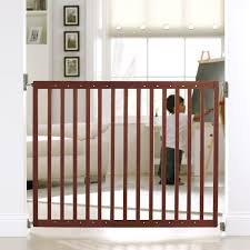 extending wood baby gate  child gate  wooden baby gate