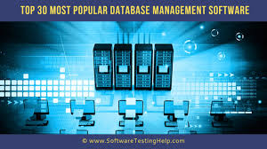 Top 30 Most Popular Database Management Software: The Complete List