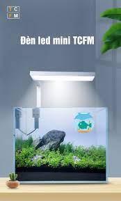 Đèn led kẹp TCFM cho bể cá, hồ thủy sinh mini - Thủy Sinh 4U