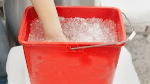 post workout ice bath