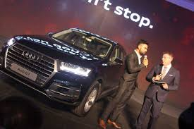 new car launches at auto expoNew Model Audi Q7 India Launch Pics Video Specifications