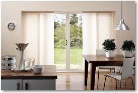 extraordinary picture of window treatment for sliding glass door in kitchen modern with blind patio image