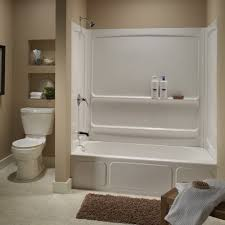 bathtub insert for shower. 4 Ft Tub Shower Combo One Piece Stall Architecture Foot Bathtub Home Insert For E