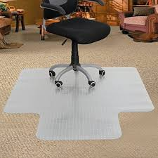 zeny home office chair mat with lip for carpet floor 60 x 48 office puter desk chair mat home office floor protection clear pvc carpet mat thickness