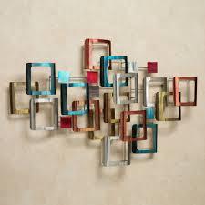 contemporary metal wall art sculptures  touch of class