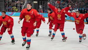 Unstoppable <b>Russia</b> shut out USA to win men's ice <b>hockey</b> gold ...