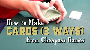 Trading Card Size Chart How To Make Cards 3 Ways