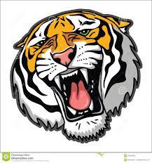 1300x1390 tiger face clip art