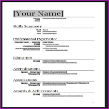 Beautiful Download Microsoft Word Curriculum Vitae Template