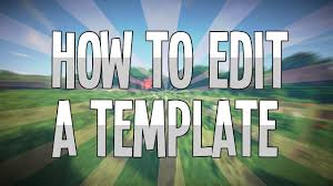 Paint Net Templates Paint Net How To Edit My Templates Youtube