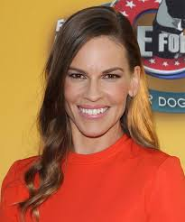 Casual Hairstyles 57 Inspiration Hilary Swank Long Wavy Casual Hairstyle Medium Chocolate Brunette