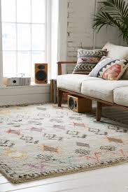 Geo Sketched Woven Rug