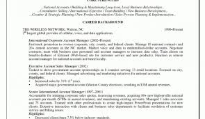 Ideas Of Resume Glorious Account Manager Resume Cover Letter With