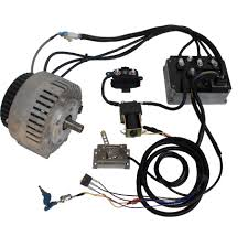 Mars brushless pmac motor with 48v 275a controller kit pmacbl275