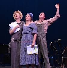 theatre preview bonnie and clyde musical theatre guild at the barbara carlton heart alyssa m simmons and kevin mcmahon