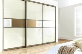 slide door wardrobes 3 sliding door wardrobe cream mirror black sliding wardrobe doors b q