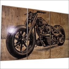 harley davidson motorcycle wall art