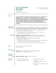 Nursing Resume Samples Nurse Resume Template Resume Sample Nursing