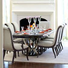 dining set with upholstered chairs lovely 9 piece dining set with double pedestal table at room