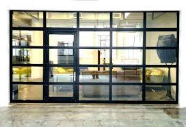 clear garage doors chic door medium size of opener repair on panels and luxury how much clear garage doors