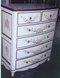 Bow Dresser Pink Roses and Ribbon