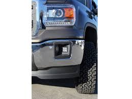 2014 Gmc Sierra Led Fog Lights 2014 2016 Gmc Sierra 1500 Led Fog Light Mounting Brackets By Rigid Industries