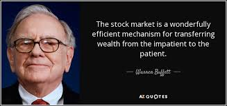 Stock Market Quote Impressive Warren Buffett Quote The Stock Market Is A Wonderfully Efficient