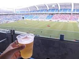 Resultado de imagem para bebida no estadio