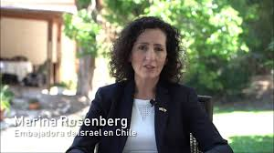 Meet Israel's newest ambassador to Chile Marina Rosenberg - YouTube