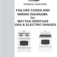 step right up appliance service manuals tag failure codes and wiring diagrams